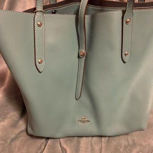 Coach Market Tote in blue